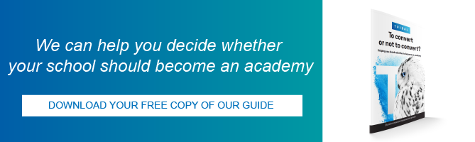 Download your free copy of our guide to help decide if you school should become an academy