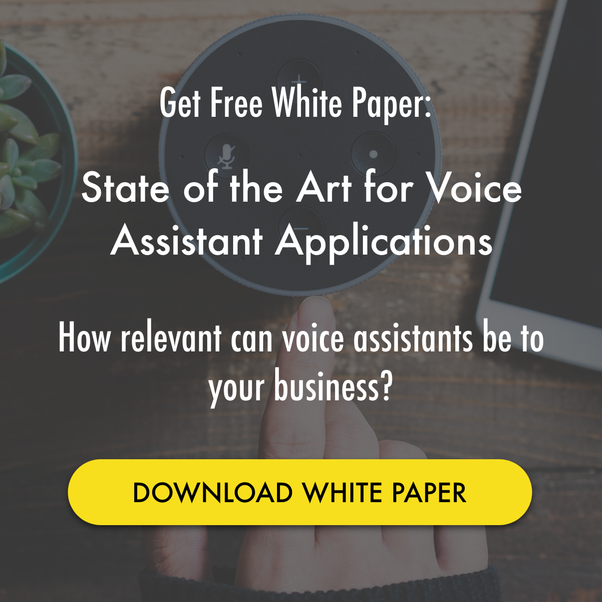 Download White Paper: State of the art for voice assistant applications || Prodigy Labs || Voice Services