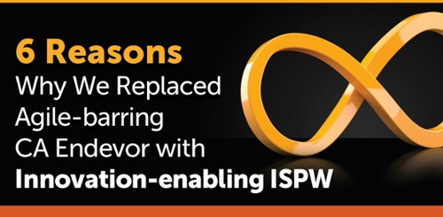 Six Reasons Compuware Replaced Agile-barring CA Endevor with Innovation-enabling ISPW