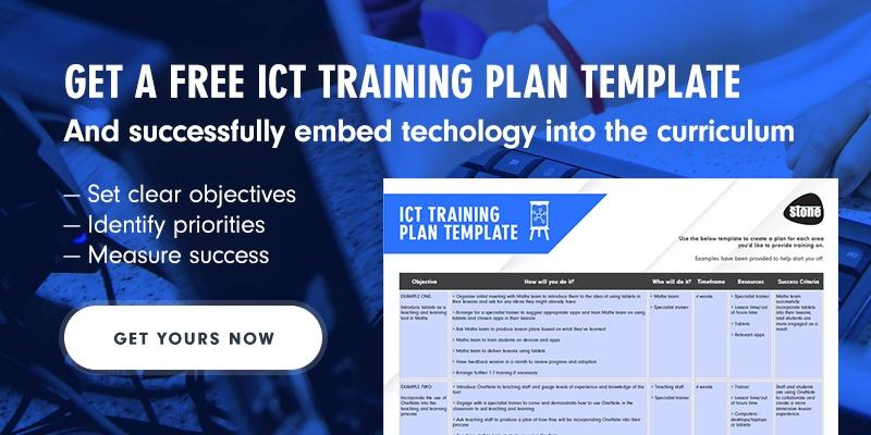 Download free IT Training Plan Template