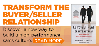 Build a high-performance sales culture - read the Let's Get Real or Let's Not Play excerpt