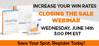 Improve your closing technique - join us for our Closing the Sale Webinar on June 14th!