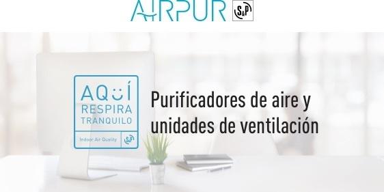 Purificadores de aire y unidades de ventilación S&P
