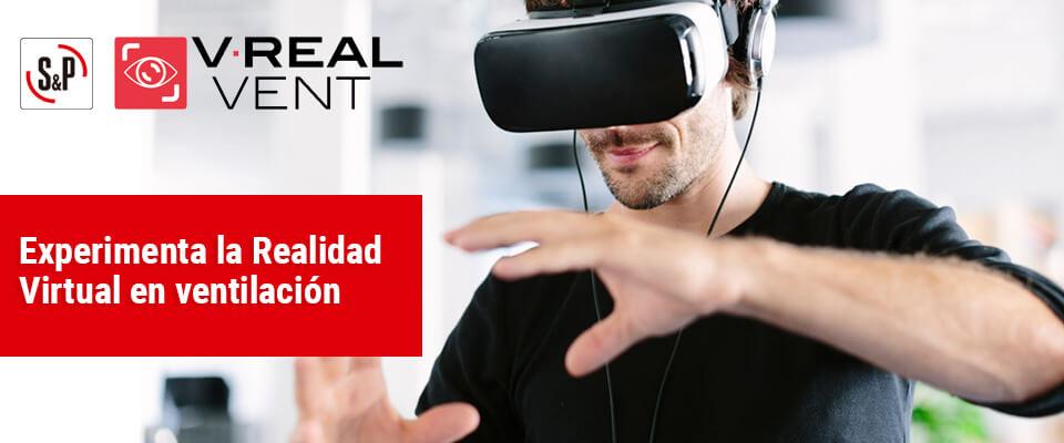 Realidad virtual en ventilación