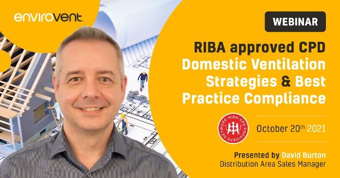 Webinar RIBA Domestic Ventilation Strategies