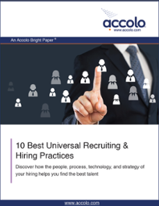 10 Best Universal Recruiting & Hiring Practices