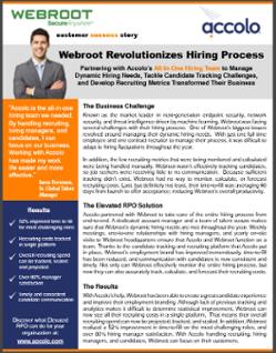 Webroot Case Study