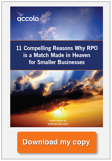 Download now - 11 Compelling reasons why RPO is a match made in Heaven for smaller businesses