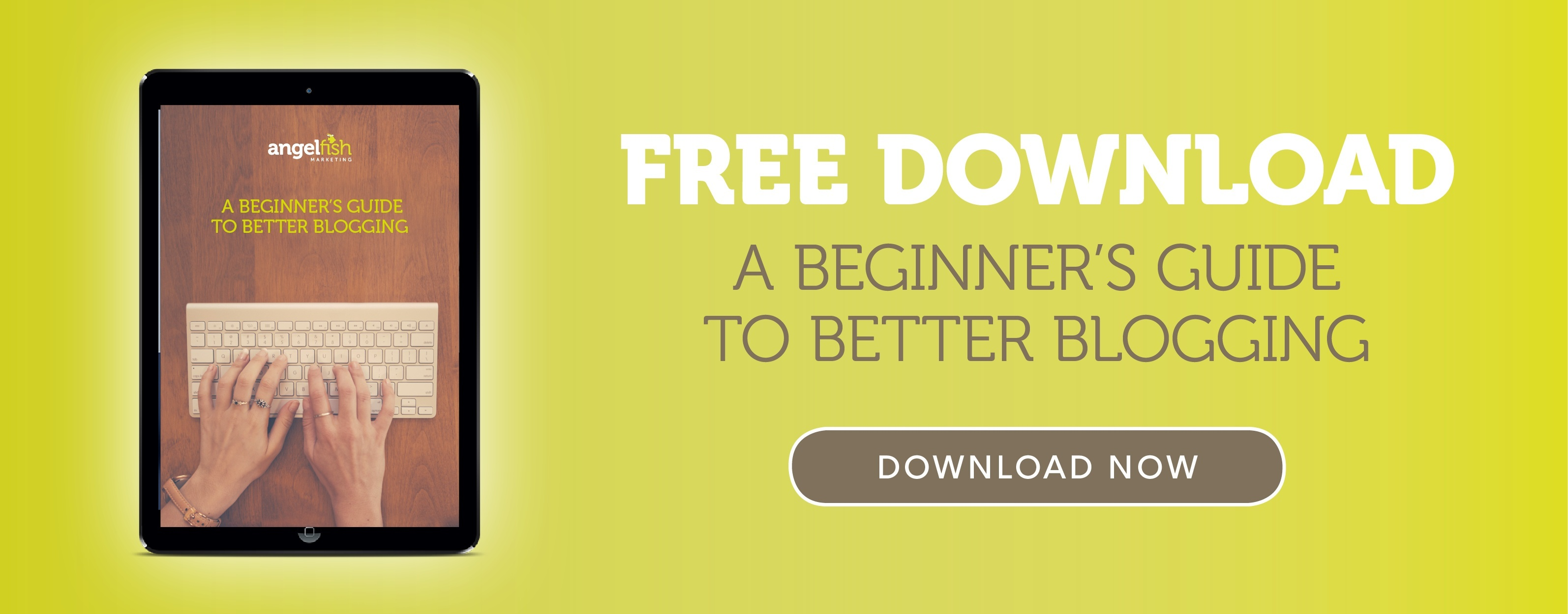 Free Download - A beginners guide to better blogging