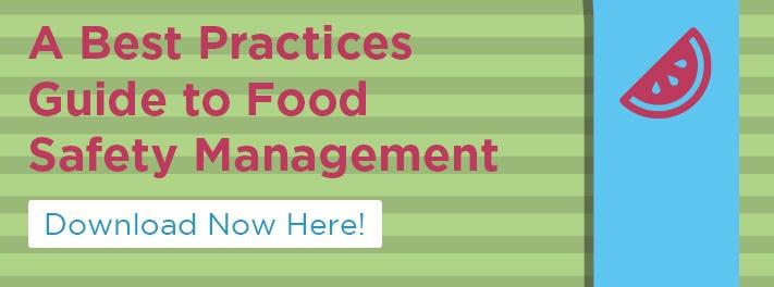 Learn a best practices approach to food safety management