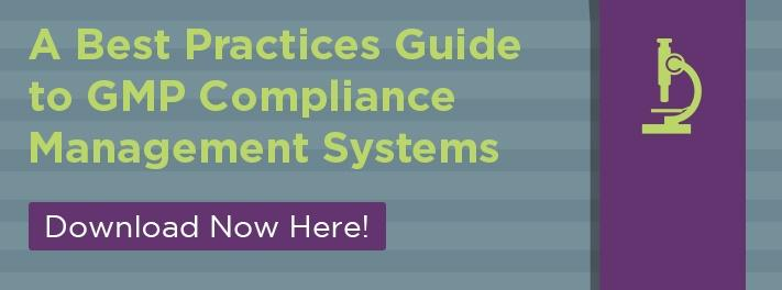 A best practices guide to GMP compliance management systems