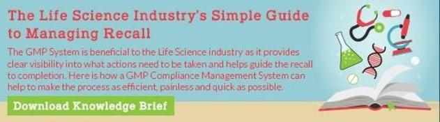 The life sciences simple guide to recall