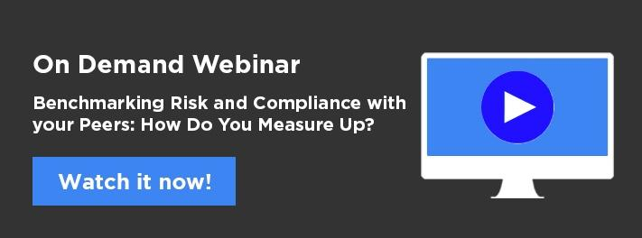 Benchmarking risk and compliance....how do you measure up?