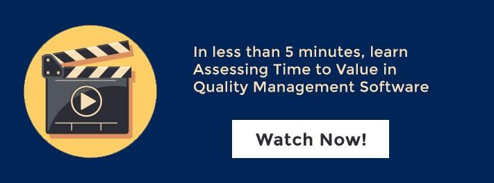 Learn how to assess time to value in QMS