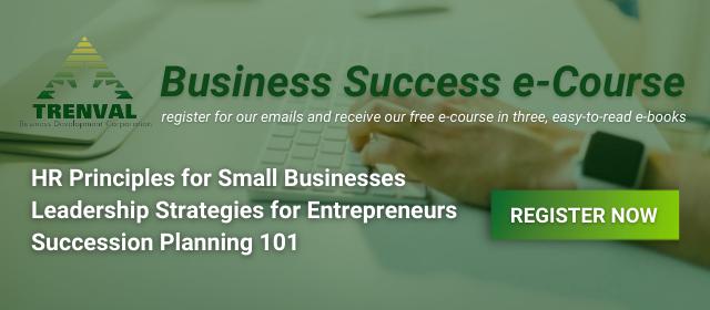 business success e-course CTA image