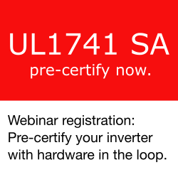 Pre-certify your inverter. The Hardware in the Loop style.