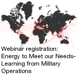 Webinar Registration- Energy to Meet our Needs- Learning from Military Operations