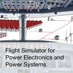 Blog: Flight Simulator for Power electronics and Power systems
