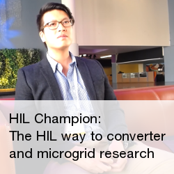 The Hardware in the Loop way to converter and microgrid research
