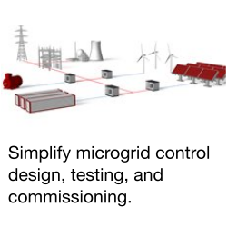 Microgrid control design, testing, and commissioning