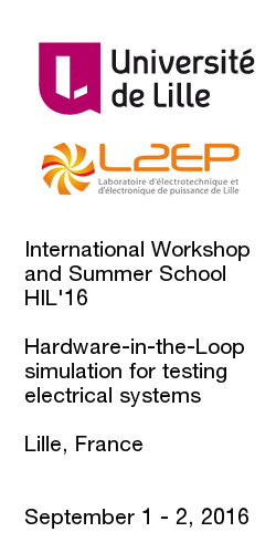 International Workshop and Summer School HIL'16