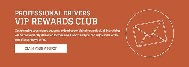 Professional Drivers VIP Rewards Club
