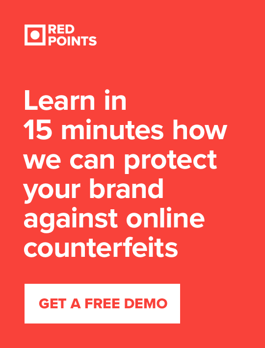 Learn in 15 minutes how we can protect your brand against online counterfeits