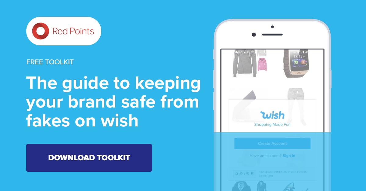 How to report a counterfeit on Wish.com