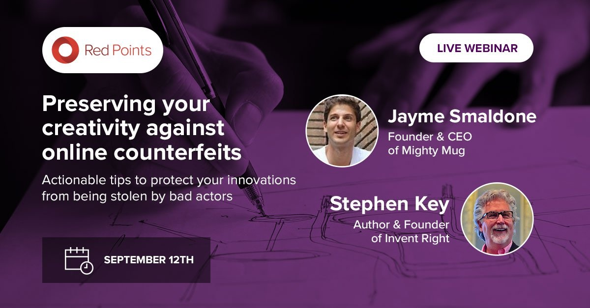 Webinar - Preserving your creativity against online counterfeits