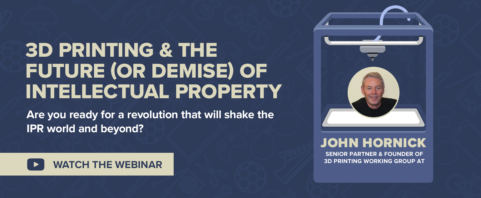 Red Points webinar with John Hornick - 3d printing and the future of intellectual property