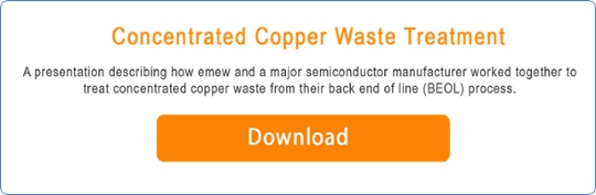 copper waste treatment