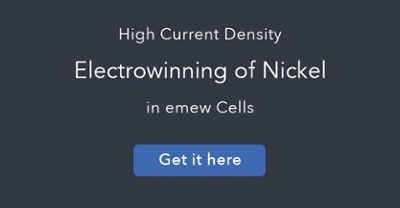 high current density nickel electrowinning