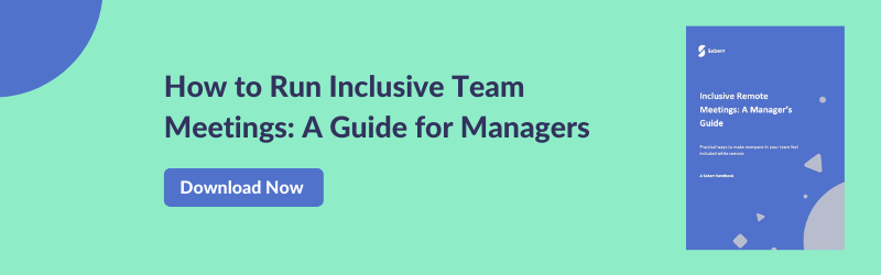 Download Your Manager's Guide to Inclusive Remote Meetings