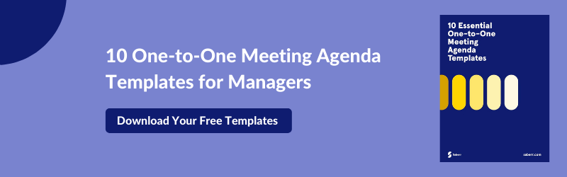 one-to-one meeting agenda templates