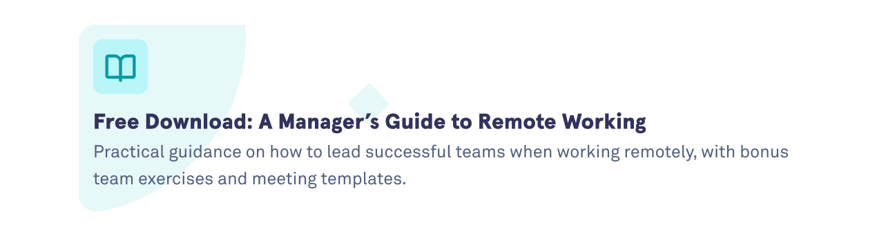 Download the Manager's Guide to Remote Working Handbook