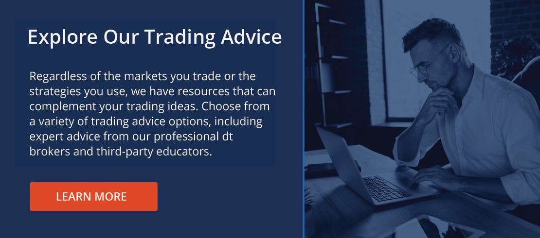 Trading Advice CTA