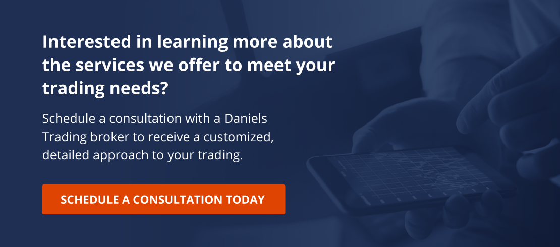 Schedule a Consultation with Daniels Trading