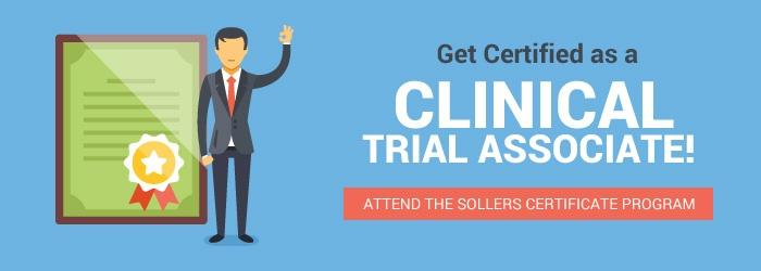 Get Certified as Clinical Trial Associate