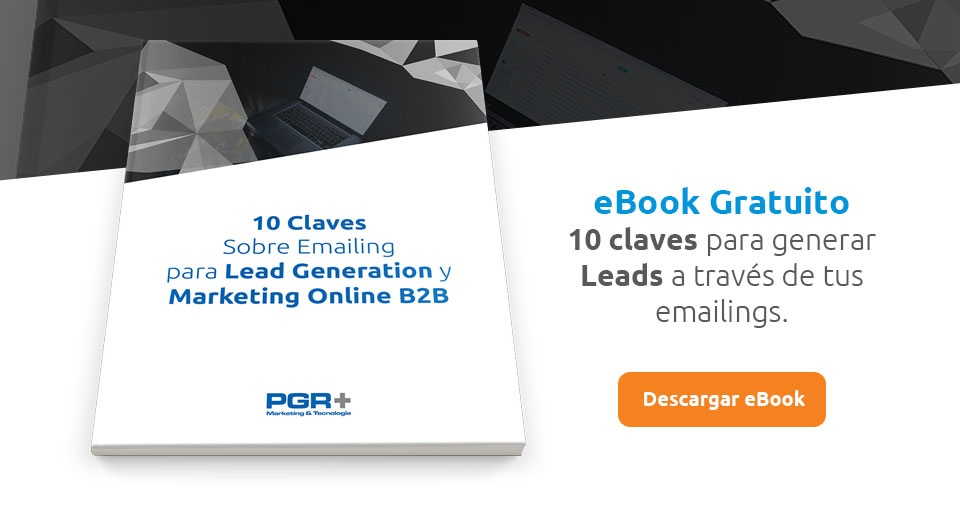 CTA - Claves Sobre Emailing para Lead Generation y Marketing Online B2B