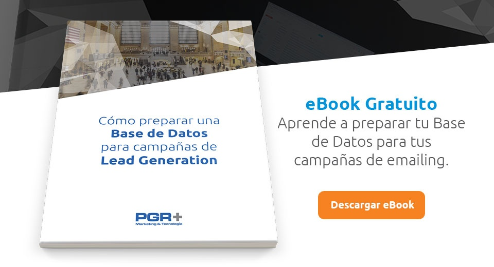 CTA - Preparar BBDD para Lead Generation
