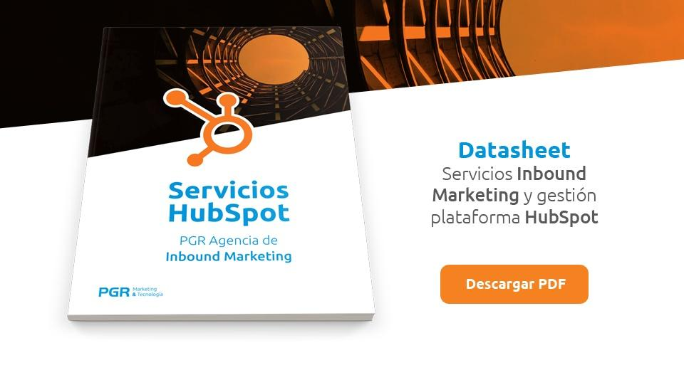 Servicios HubSpot Inbound Marketing