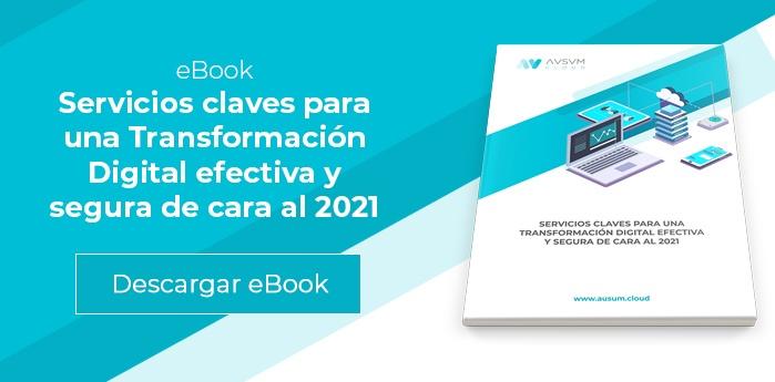 AUSUM- eBook Servicios claves Transformación Digital para 2021