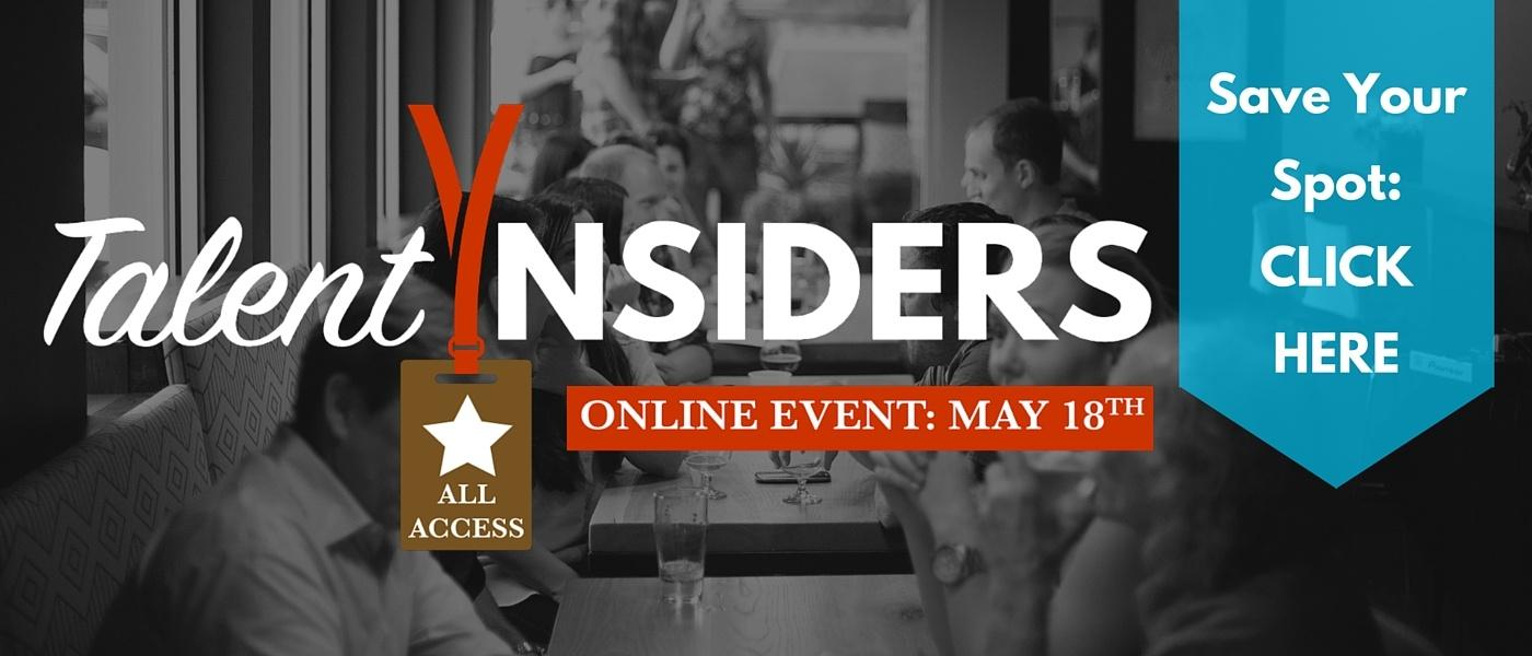 Talent Insiders Save Your Spot