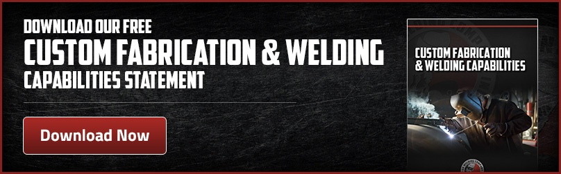 Custom Fabrication and Welding Services Capabilities Statement