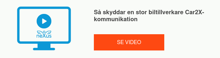 Så skyddar en stor biltillverkare Car2X-kommunikation Se video