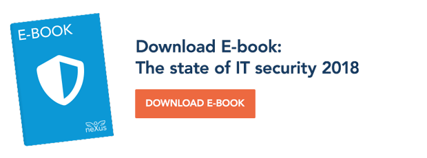 Download E-book: The state of IT security 2018