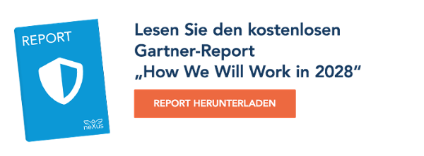 "Lesen Sie den kostenlosen Gartner-Report ""How We Will Work in 2028"""