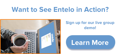 Sign up for Entelo's live group demo.
