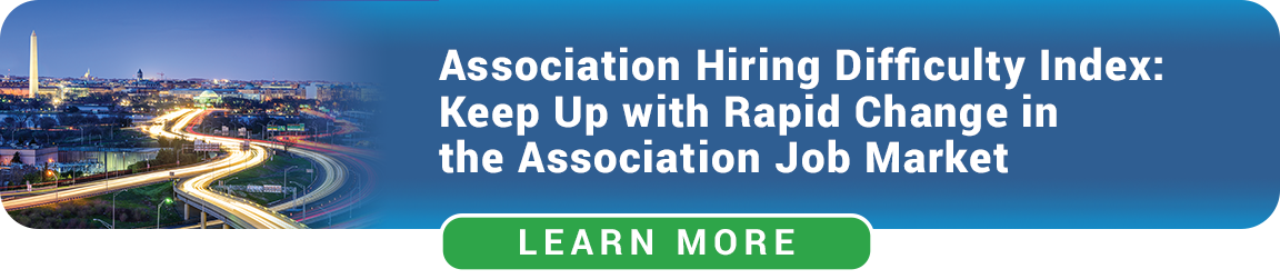 Association Hiring Difficulty Index - Washington DC