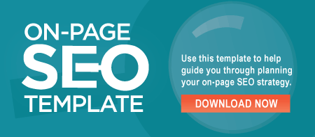 Download the on page SEO template
